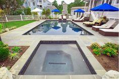 Luxurious swimming pool