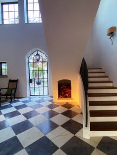 sunrise in our entrance hall. #CapeDutch #architecture #home #design photo: Carolyn Espley-Miller @slimpaley