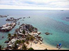 Pulau Lengkuas, Belitung - view from mercusuar