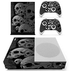 Pandaren Xbox One S  Slim Console Full Skin Sticker FaceplatesSkull Black Console Skin X 1  Controller Skin X 2 -- Be sure to check out this awesome product.Note:It is affiliate link to Amazon.