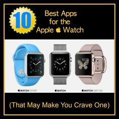 The Apple Watch arrives today and if you're getting one you'll want to fill it up with fun and useful apps. Even if you're not getting an Apple Watch you may be curious about exac… Apple Watch Hacks, Best Apple Watch Apps, Apple Watch 3, Apple Watch Series 2, Apple Apps, Apple Watch Iphone, Iphone Stand, Best Apps, Apple Products