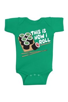 HauteLook | Sets & Apparel: David & Goliath Kids This Is How I Roll Bodysuit