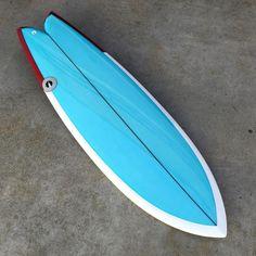 "5'8"" UTF twin keel available at @albumsurf and albumsurf.com // #albumsurfboards #albumutf #lightsoutglassing (at Album Surf)"