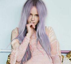 pastel purple lilac lavender hair