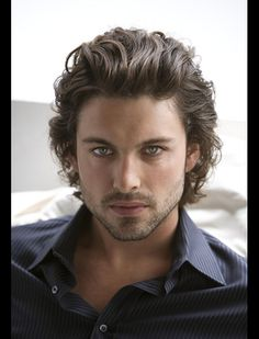 Natural Long Curly Hairstyles For Men - Hairstyles for Men with Curly Hair