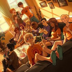 Percabeth, Solangelo, Heroes Of Olympus, Cultura Pop, Hanging Out, Percy Jackson Fan Art, Percy Jackson Fandom, The Incredibles, Hazel Levesque