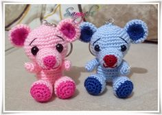 Amigurumi Anahtarlık Tarifleri : Bebek anahtarlık tarifi baby keychain pattern amigurumi