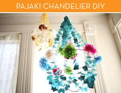 Have you seen these colorful Polish chandeliers popping up on Pinterest lately? It seems like they are everywhere, but I wasn't sure how they were…