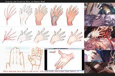 Drawing hands: male vs female by kawacy on DeviantArt
