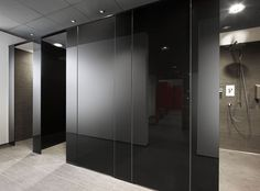 Bathroom Partition Hardware In atlanta Of Bathroom Partitions atlanta Ga Bathroom Stall, Glass Bathroom, Bathroom Toilets, Washroom, Bathroom Ideas, Minimal Bathroom, Modern Bathroom, Commercial Toilet, Toilet Cubicle