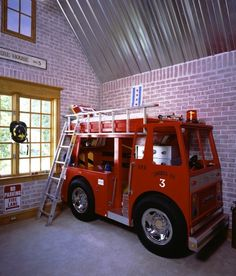fire truck bed!!!!!