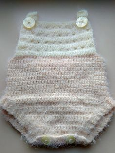 Crochet Baby Romper Jumpsuit free pattern | Turtle Whicky Crochet | Home