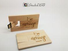 Pendrive Wood Card - By Âmago Fotografia