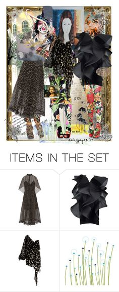 """fashion friends"" by daizyjayne ❤ liked on Polyvore featuring art and fashionart"
