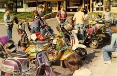 70's Scooter Clubs
