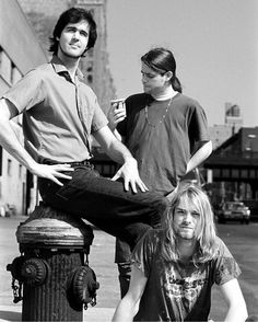 Bleach era #blackandwhite #Nirvana