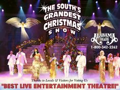 the alabama theatres award winning production the souths grandest christmas show 1 800 myrtle beach