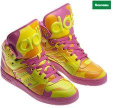 baskets Adidas x Jeremy Scott hiver 2013 2014