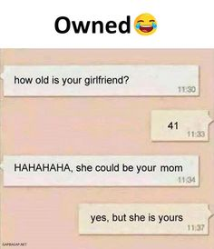 Funny Text Message About Girlfriend