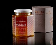 Packaging for Desert King Quillaja designed by Labdiseño