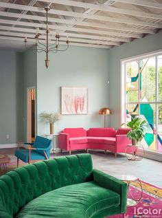 【iColor】轻松玩转彩色系——colorful客厅,色彩前沿_设计·艺术,设计资讯-iColor装修网