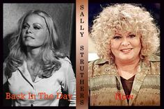 """Sally Struthers ~ Gloria Stivic """"All in the Family"""". Born: July 1947 Portland, OR Celebrities Before And After, Celebrities Then And Now, Young Celebrities, Hollywood Celebrities, Celebs, Famous Women, Famous People, Sally Struthers, All In The Family"""