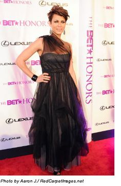 BET Honors 2011: All eyes were on Nicole Ari Parker as she walked the BET Honors red carpet in a BCBG gown.