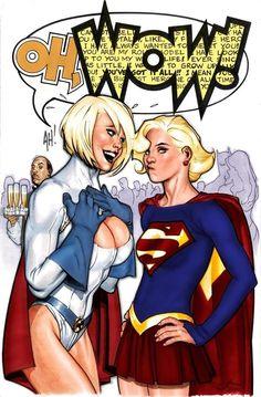By Adam HughesYou can find Adam hughes and more on our website.By Adam Hughes Adam Hughes, Heros Comics, Comics Girls, Marvel Dc Comics, Comic Book Artists, Comic Artist, Comic Books Art, Batgirl, Catwoman