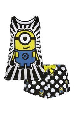 Minions Pyjama Short Set