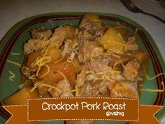 #Crockpot #Pork #Roast #Recipe