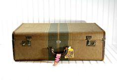Vintage Suitcase / Vintage Luggage