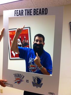Meteorologist JD Rudd of KSN TV and FOX Kansas Fears The Beard!