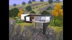 Sims 3 Luxury cliff house