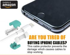 iPhone cables are known to become damaged with everyday use and eventually stop working. Our cable protector prevents this damage increasing the overall life of your cable saving you time and money.