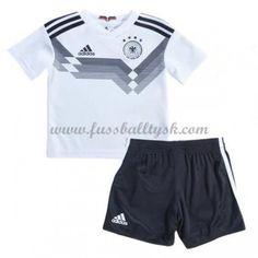 591b0e0cbd4aa Nationalmannschaft Trikot Kinder Deutschland WM 2018 Heim Trikotsatz  Fussball Kurzarm