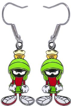 Marvin the Martian Charm Dangle Earrings FreshTrends. $9.99. Offically licensed. Made from high quality material. Save 74%!
