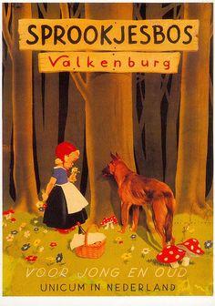 roodkapje-valkenburg-Netherlands  Little red riding hood LRRH