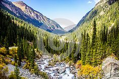 Ala Kol  lake area- Kirgiz nature