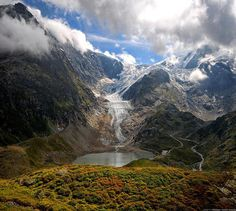 Susten Pass, Swiss Alps, Switzerland