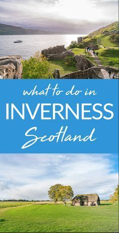 When you go to here's what to do in A land of castles, history, and mythical monsters. Heading to Scotland and wondering what to do in Inverness? Don't miss these awesome things to do. What to do in Inverness, Scotland When planning my trip to Ireland, I… Places To Travel, Places To See, The Places Youll Go, Travel Destinations, Holiday Destinations, Scotland Vacation, Scotland Travel, Scotland Trip, Scotland Tours