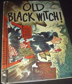 Old Black Witch Weden And Harry Devlin 1966 Edition Hardcover