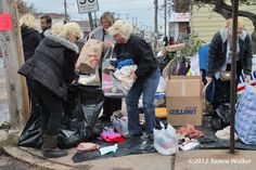 Community coming together after #Sandy