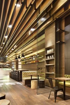 COORDINATION ASIA have designed the GAGA restaurant in Shenzhen, China