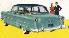 1953 Ford Customline 4 Door Sedan