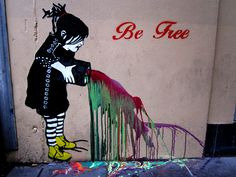 Melbourne Artist 'Be Free'.