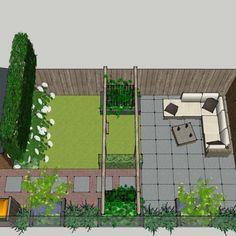 Backyard House, Backyard Garden Landscape, Small Backyard Gardens, Small Space Gardening, Backyard Landscaping, Outdoor Gardens, Small Yard Design, Back Garden Design, Garden Design Plans