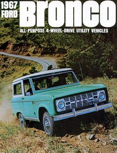 1967 Ford Bronco,