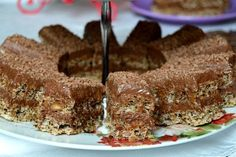 Prajitura durere – Famous Last Words Romanian Desserts, Romanian Food, Romanian Recipes, Sicilian Recipes, Turkish Recipes, Scottish Recipes, Cream Cake, Sweet Recipes, Food To Make
