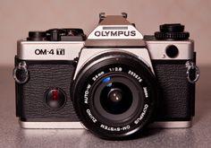 Olympus | OM4 Ti | 35mm SLR camera with titanium body