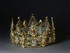 Reliquary crown from a Dominican convent